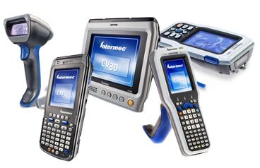 Intermec barcode scanners